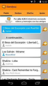 iSendyou screenshot 2