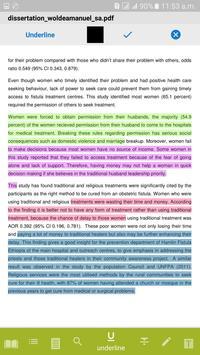 PDF Reader + eBook - Waliya screenshot 3