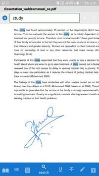 PDF Reader + eBook - Waliya screenshot 6
