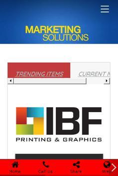 IBF PRINTING & GRAPHICS poster