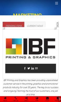 IBF PRINTING & GRAPHICS apk screenshot