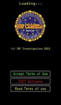 IBF Crime Scene Camera poster