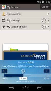 ibis hotel booking APK-screenhot