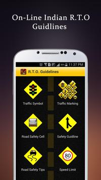 Driving Guidelines + RTO Rules poster