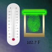 Fever Thermometer Finger Prank icon