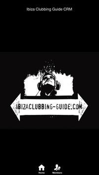 Ibiza Clubbing Guide CRM poster