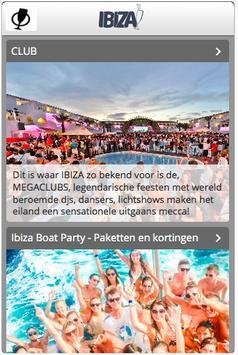 IBIZA uitgaans info screenshot 1