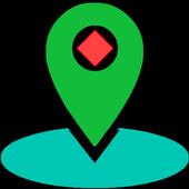 GPS Location Information icon