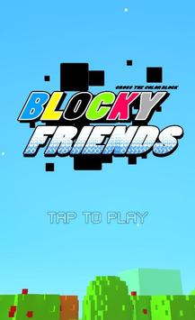 Blocky Friends poster