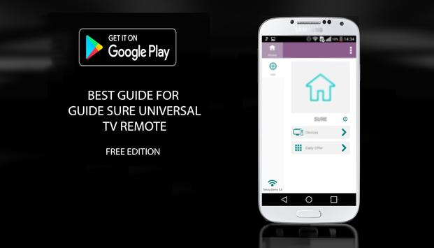 Tips for SURE Universal Remote apk screenshot