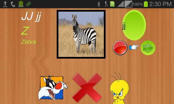 Alphabetica screenshot 2