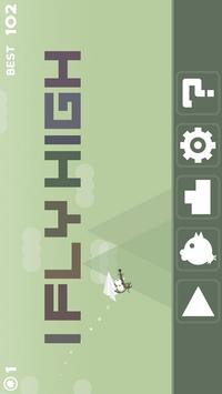 I FLY HIGH poster