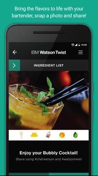 IBM Chef Watson Twist screenshot 2