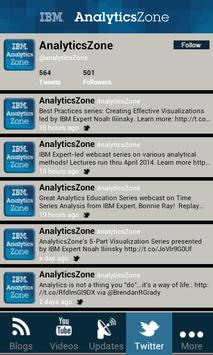 IBM AnalyticsZone screenshot 5