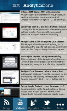 IBM AnalyticsZone screenshot 2