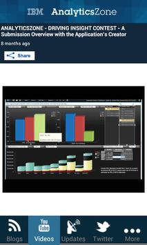 IBM AnalyticsZone screenshot 3