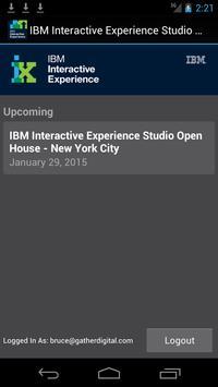 IBM iX Studio Open House poster
