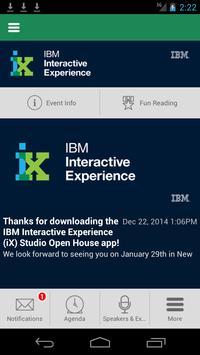 IBM iX Studio Open House apk screenshot