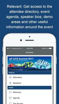 AP GTS Summit 2017 poster