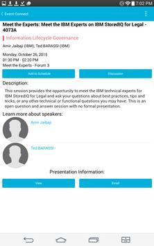 IBM Event Connect apk screenshot