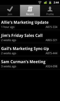 IBM SmartCloud Meetings apk screenshot