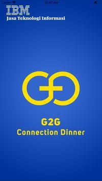 G2G Connection Dinner poster