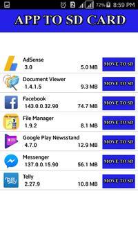 Files to SD Card apk screenshot