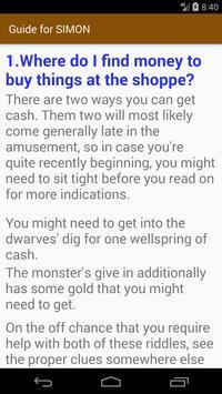 Guide for Simon the Sorcerer screenshot 1