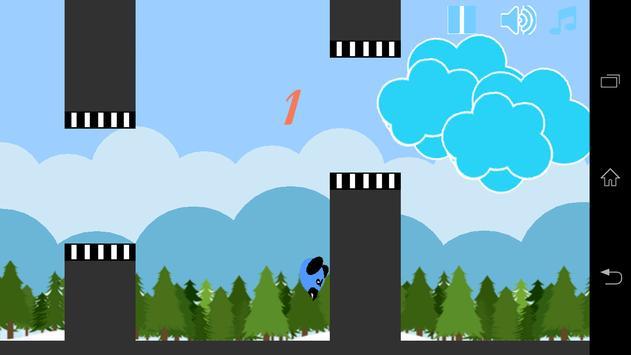 Flapping Birdy screenshot 2