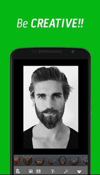 Beard Photo Editor apk screenshot