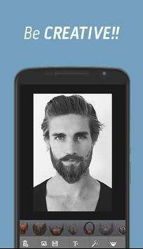 Man Moustache Beard Changer apk screenshot