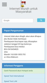 Hotspot Login apk screenshot