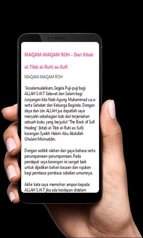 Terjemah Kitab Al Tibb Al Ruhi Für Android Apk Herunterladen