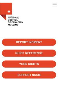 National Council of Canadian Muslims poster