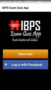 IBPS Exam Quiz App screenshot 1