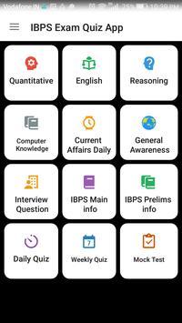 IBPS Exam Quiz App screenshot 3