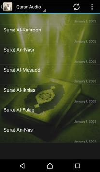 Quran Audio Ibrahim Jibreen apk screenshot