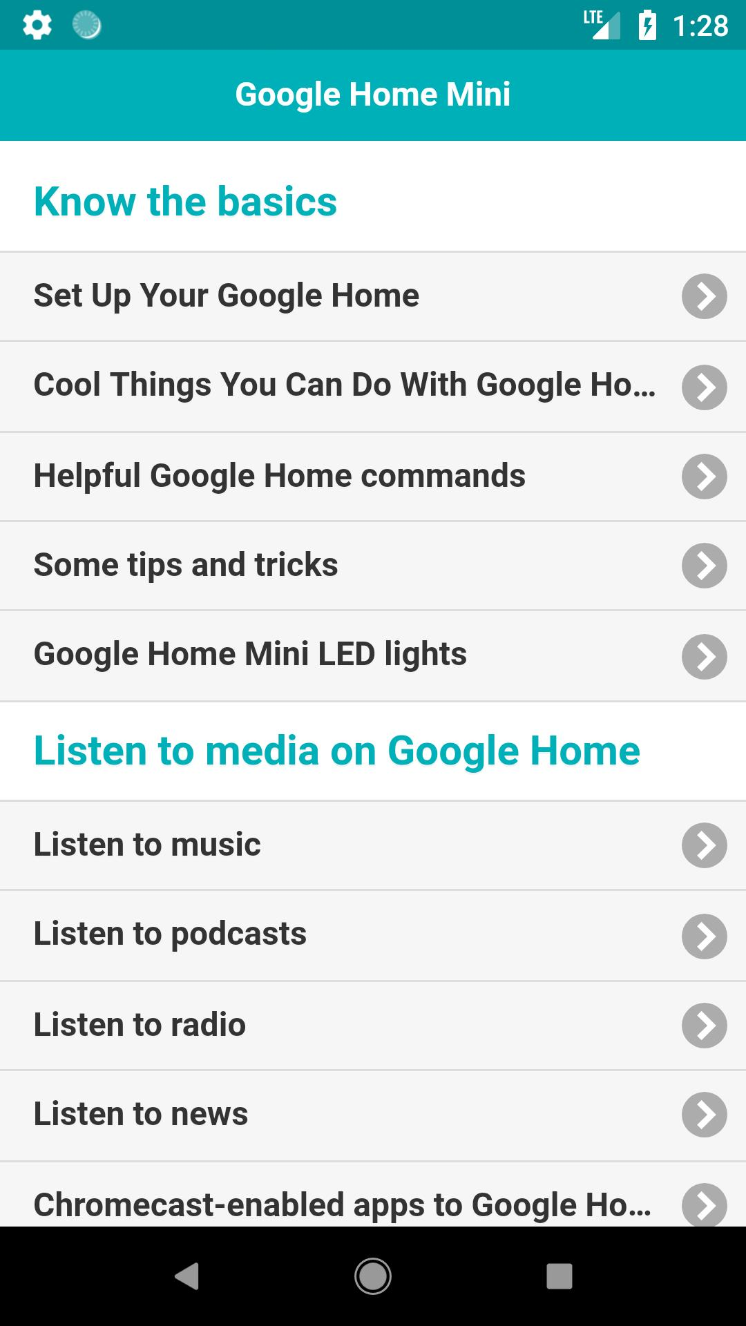 User Guide for Google Home Mini for Android - APK Download