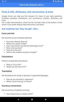 Commands for Google Home Max apk screenshot