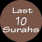 Last 10 Surahs icon