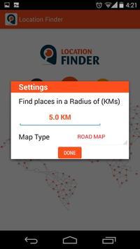 Location Finder screenshot 2