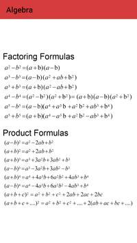 Maths Dictionary screenshot 3