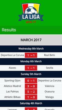 Live La Liga 2017 apk screenshot
