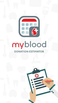 Blood Donation Calculator poster