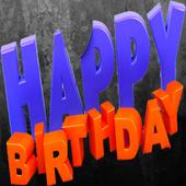Happy Birthday Greeting cards icon