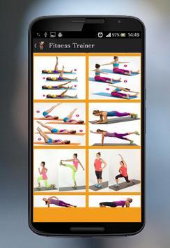 Fitness Trainer apk screenshot