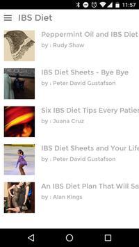 IBS Diet screenshot 1