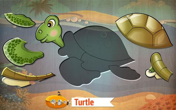 Toddler Kids puzzle - Animals apk screenshot