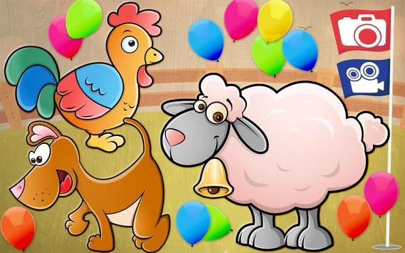 Toddler Kids puzzle - Animals screenshot 17