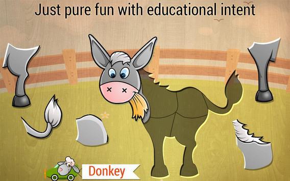 Toddler Kids puzzle - Animals screenshot 1